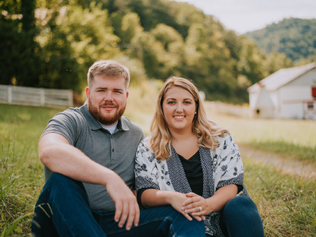 Hailey + Jeremy's Engagement Portraits | Cornettsville, KY | Kentucky Wedding Photographer