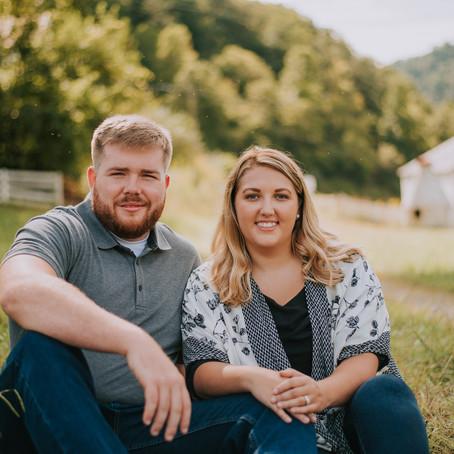 Hailey + Jeremy's Engagement Portraits   Cornettsville, KY   Kentucky Wedding Photographer