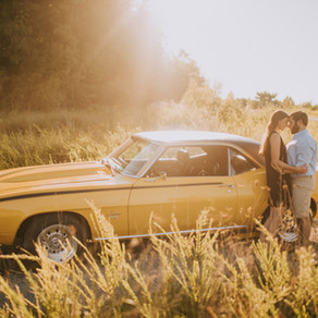Summer Engagement Portraits with Brittany + Stevie | Hazard, KY | Kentucky Wedding Photographer