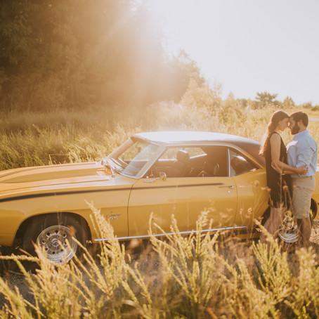 Summer Engagement Portraits with Brittany + Stevie   Hazard, KY   Kentucky Wedding Photographer