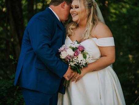 Mr + Mrs Conley   Summer Backyard Wedding   Kentucky Wedding Photographer
