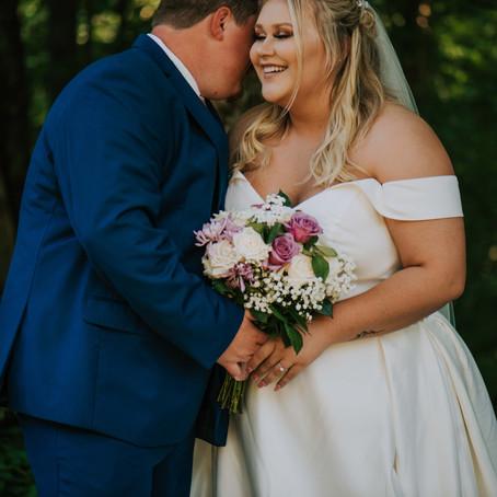 Mr + Mrs Conley | Summer Backyard Wedding | Kentucky Wedding Photographer