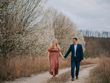 Spring Engagement Portraits with AJ + Bailey | Hazard, KY | Kentucky Wedding Photographer