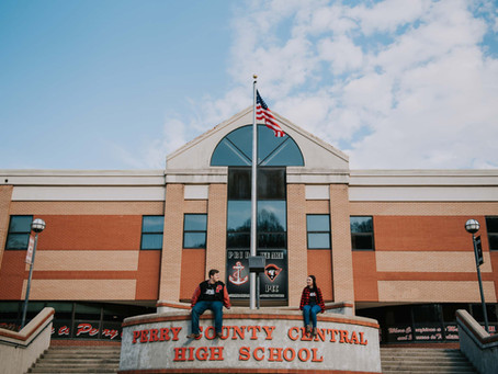 High School Sweethearts Portraits | Hazard, KY | Kentucky Photographer