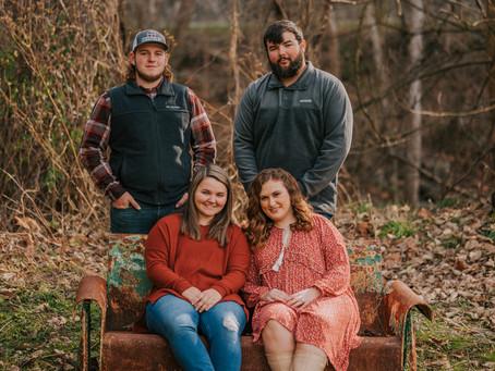 Fun Fall Portraits at Cornettsville | Kentucky Family Photographer