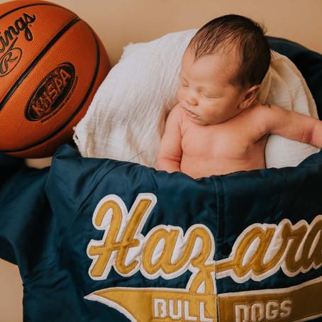 Introducing Jagger Frazier   Hazard, KY Newborn   Kentucky Family Photographer