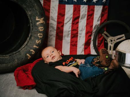 Maverick's First Portraits   Hazard, KY   Kentucky Family Photographer