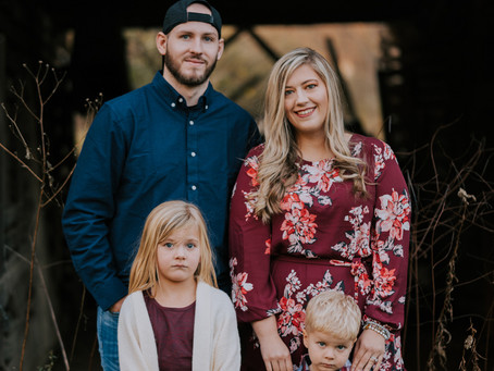 Fall Family Portraits with The Wooton Family | Cornettsville, KY | Kentucky Family Photographer