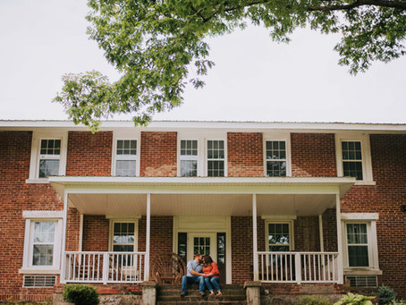 Engagement on Calvary   Letcher, KY   Kentucky Engagement Photographer