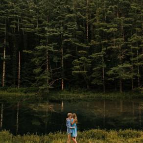 Romantic Engagement Portraits at Miniard Farm | Ana + Hunter | Kentucky Wedding Photographer