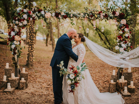 Fall Wedding by the River at The Perfect Place   Hazard, KY   Kentucky Wedding Photographer