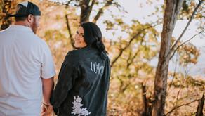 Fall Engagement Portraits on Pine Mountain   Brandi + Derrick   Kentucky Wedding Photographer