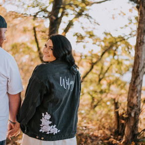 Fall Engagement Portraits on Pine Mountain | Brandi + Derrick | Kentucky Wedding Photographer