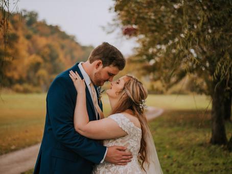 Beautiful Fall Virginia Wedding | Breaks, VA | Virginia Wedding Photographer