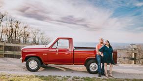 Spring Mountain Top Portraits with Jade + Shade   Whitesburg, KY   Kentucky Family Photographer