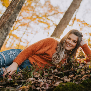 Fall Golden Hour Portraits with PCCHS Senior Chelsea Moore | Kentucky Senior Photographer