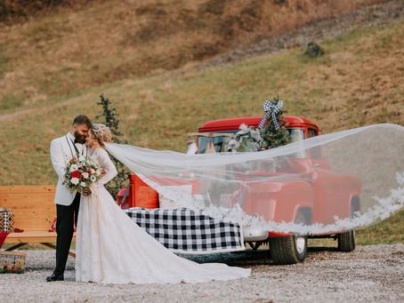 A Winter Wonderland Wedding - Mr. + Mrs. Turner | Hindman, KY | Kentucky Wedding Photographer