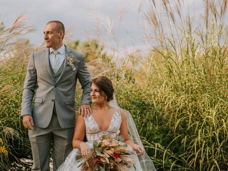 Elegant Fall Wedding at Bel-Wood Country Club | Morrow, OH | Ohio Wedding Photographer