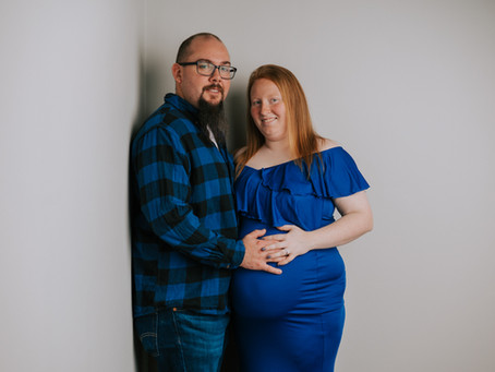 Studio Maternity Portraits | Hazard, KY | Kentucky Family Photographer