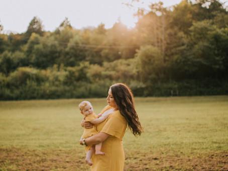 Willow's Half Birthday   Cornettsville, KY   Kentucky Family Photographer