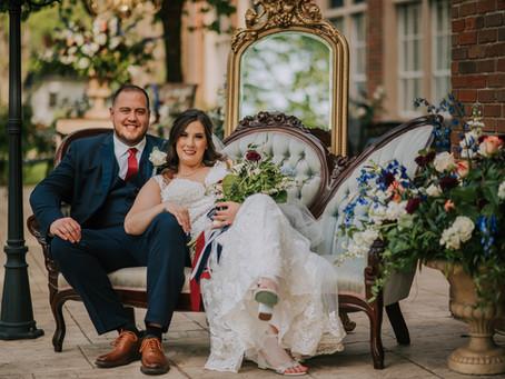 The Eldridges Say 'I Do' at Benham Schoolhouse Inn | Annie + Jarrett | Kentucky Wedding Photographer