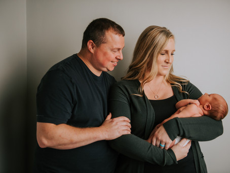 Introducing Hudson Grey Mason | Hazard, KY | Kentucky Newborn Photographer
