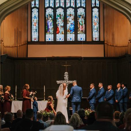 Romantic Fall Wedding in Winchester | The Hedgecock Wedding | Kentucky Wedding Photographer