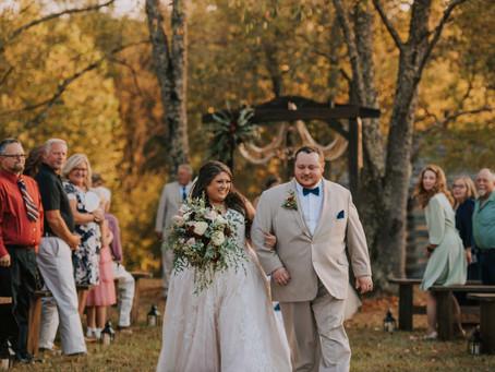 Fall Wedding Under The Stars   Paintsville, KY   Kentucky Wedding Photographer