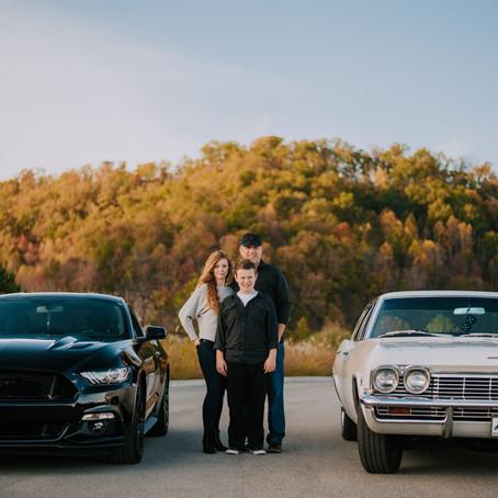 Fun Fall Family Portraits   Hazard, KY   Kentucky Family Photographer