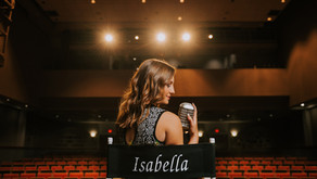 Fun Theater Portraits with PCCHS Senior Isabella Skaggs   Hazard, KY   Kentucky Senior Photographer