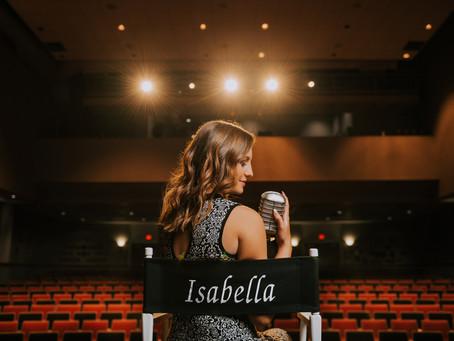 Fun Theater Portraits with PCCHS Senior Isabella Skaggs | Hazard, KY | Kentucky Senior Photographer