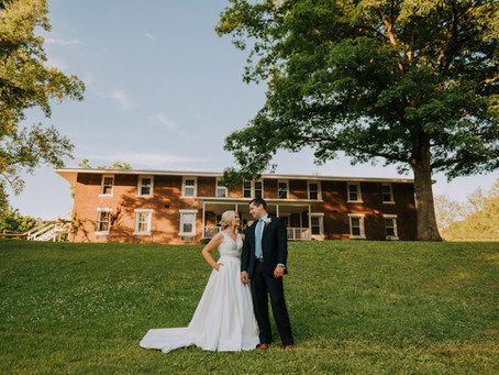 Dreamy Summer Wedding at Calvary Campus | Mr. + Mrs. Warf | Kentucky Wedding Photographer