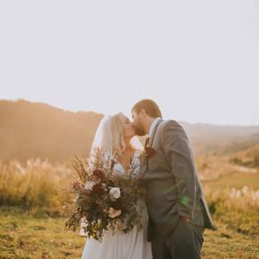 Beautiful Fall Mountaintop Wedding | Hazard, KY | Kentucky Wedding Photographer