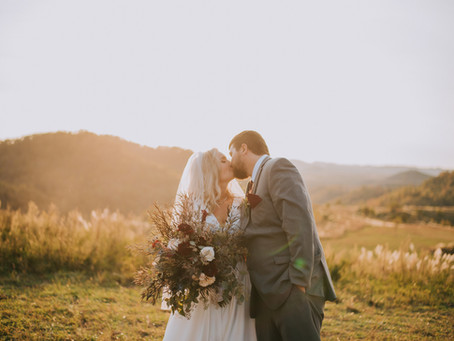 Beautiful Fall Mountaintop Wedding | Hazard, KY | Kentucky Wedding Photographer