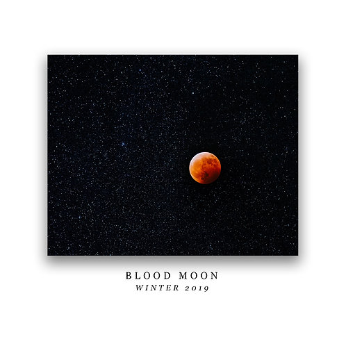 Blood Moon Print