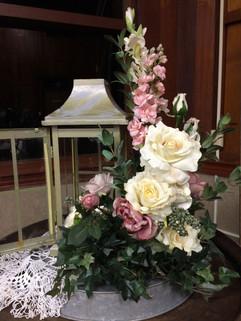 Beautiful spring floral arrangement