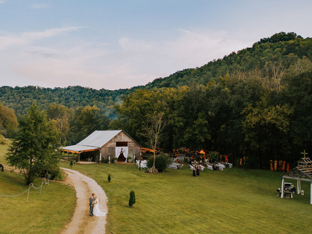 Late Summer Wedding at The Perfect Place | Mr. + Mrs. Sampsell | Kentucky Wedding Photographer