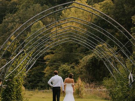 Intimate Summer Backyard Wedding   Hazard, KY   Kentucky Wedding Photographer