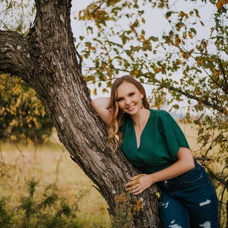Fall Senior Portraits with Taylor   Hazard, KY   Kentucky Senior Photographer