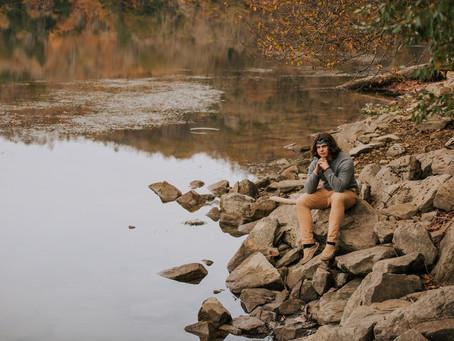 Fall Portraits on the Lake with PCCHS Senior Nick Alexander | Kentucky Senior Photographer