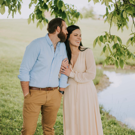 Summer Engagement Portraits at Cave Hill Vineyard   Eubank, KY   Kentucky Wedding Photographer