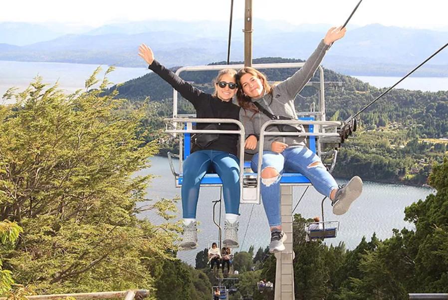 Cerro Campanario – Bariloche. Foto: cedida por la entrevistada