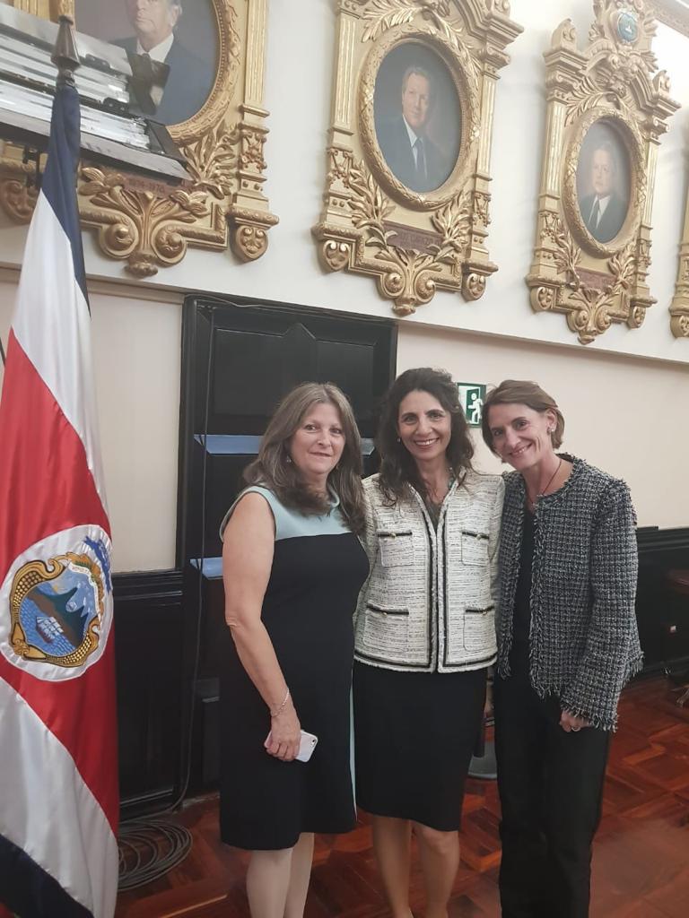 Asamblea Legislativa de Costa Rica. Una actividad en honor a los sobrevivientes de la Shoá. Fuimos con la sobreviviente homenajeada representando a Yad Vashem Costa Rica del que formo parte.