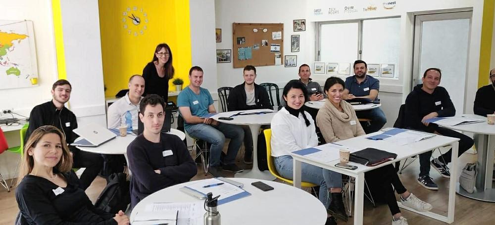 Uno de los cursos de Gvahim. Foto cedida por el entrevistado.