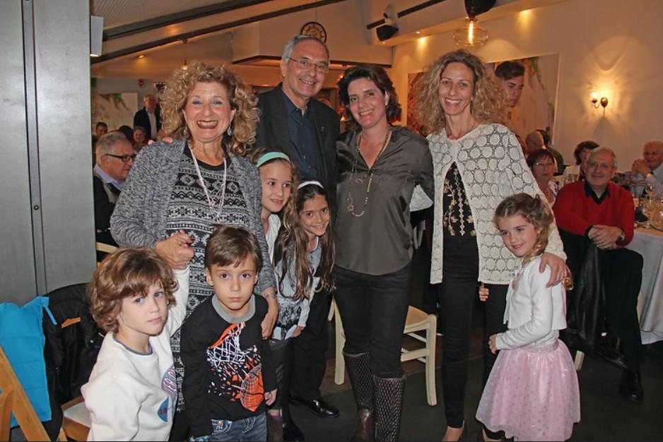 Mario y Ester en familia.