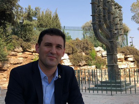 Eitan Ginzburg, el legislador israelí de origen argentino