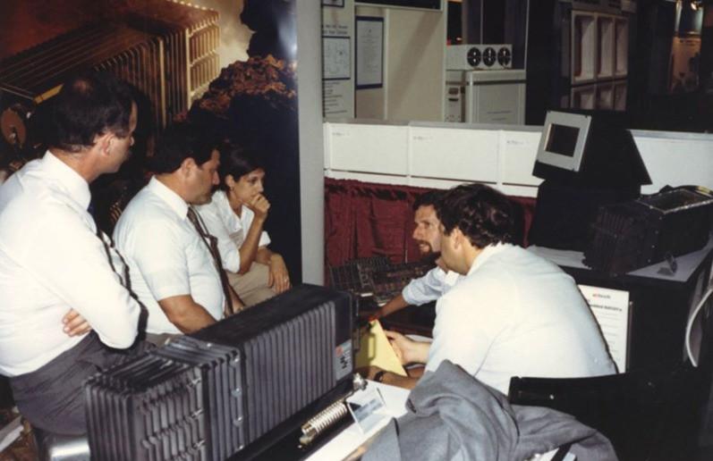 Strategy brainstorming 1989. Foto cedida por el entrevistado.