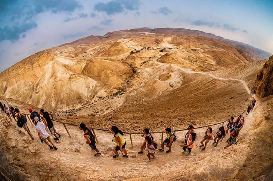 Grupo de Taglit en una de sus actividades. Foto: cedida por Javaia Israelit.