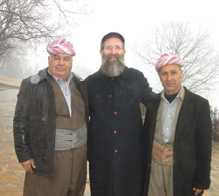 El Rabino Birnbaum en Kurdistán.
