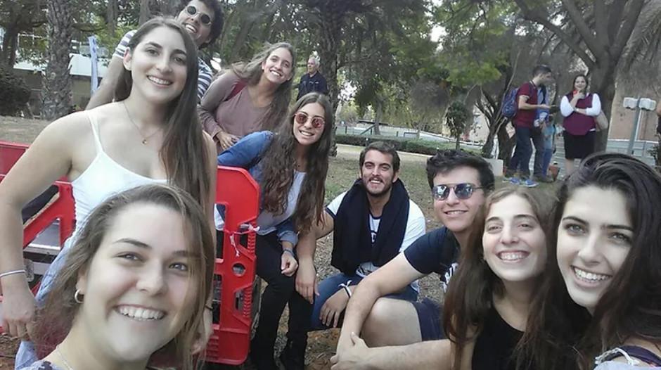 """Nico Bemaman: """"Yo creo que no tengo ni un solo amigo que viva en Israel y no esté contento"""". Foto: cedida por el entrevistado."""